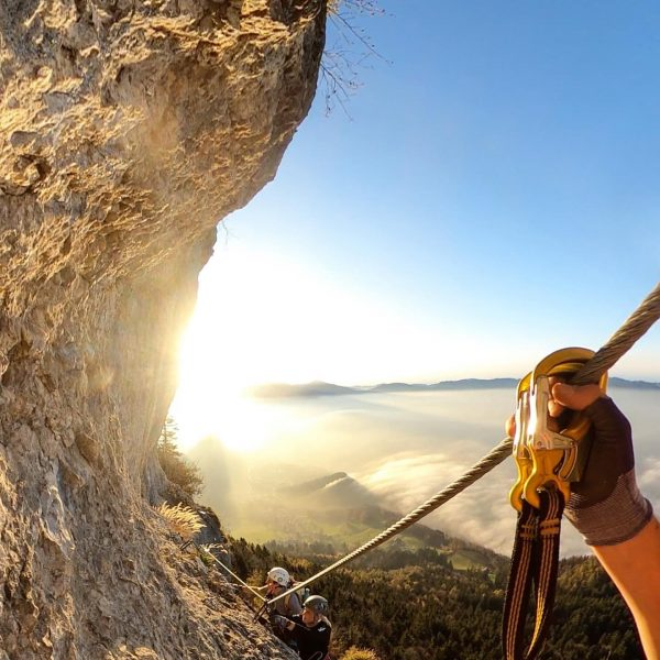Via ferrata Kapf in Vorarlberg🇦🇹 . . . #alpen #viaferrata #mountains #climbing #austria ...