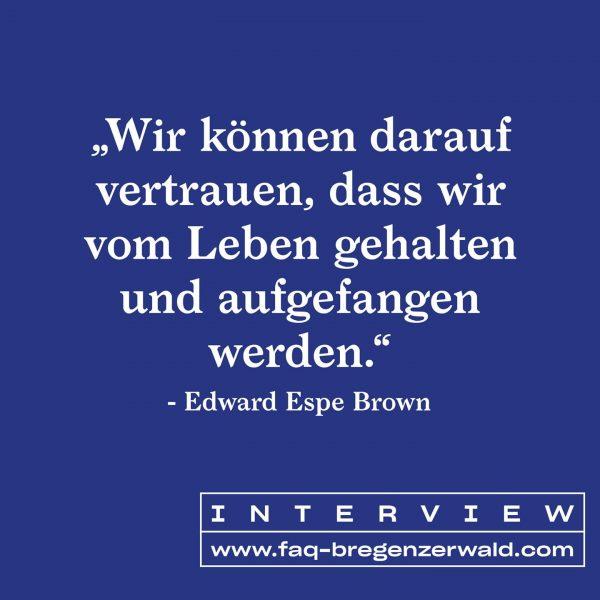 Edward Espe Brown lehrt Meditation, die Kunst des Lebens und praktiziert seit über ...