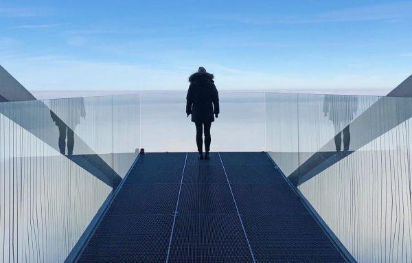 Above the clouds... ⛅️ Have you seen the sun today? ☀️ #autumnvibes #visitvorarlberg #bodenseevorarlberg Karren Dornbirn