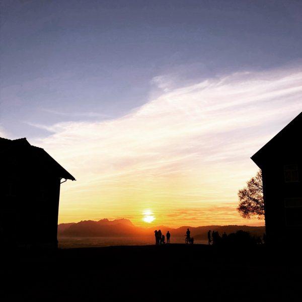What a view! 💛 #whataview #view #aussicht #sonnenuntergang #sunset #unservorarlberg #ohovorarlberg #bodenseevorarlberg #tramonto ...