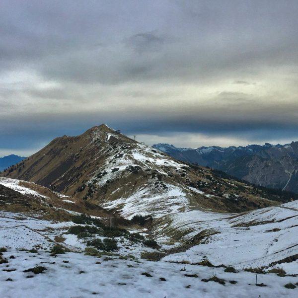 FELLHORN Two weeks ago-before the lockdown - Kleinwalsertal was still open for visiting. The peak fellhorn had...