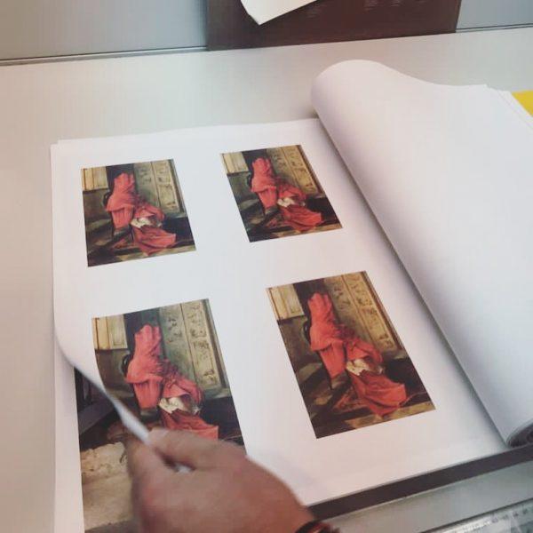 At the printer #kubprogram #2021 #kunsthausbregenz #behindthescenes