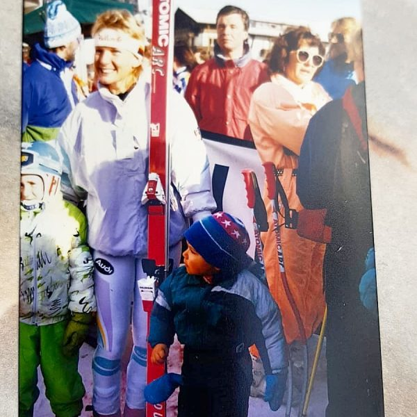 It was 1988, when the first World Cup took place in Lech Zürs and I was happy...