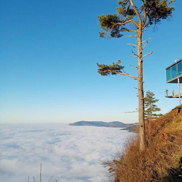 Über den Wolken.... 🌞 #kreativeauszeit #auszeit #krafttanken #soschön #wandernmachtglücklich #wandern #hikkingadventures #hikking #karren ...