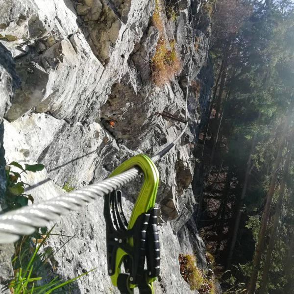 Probably the last via ferrata for this season. See you next year. 😉 ...