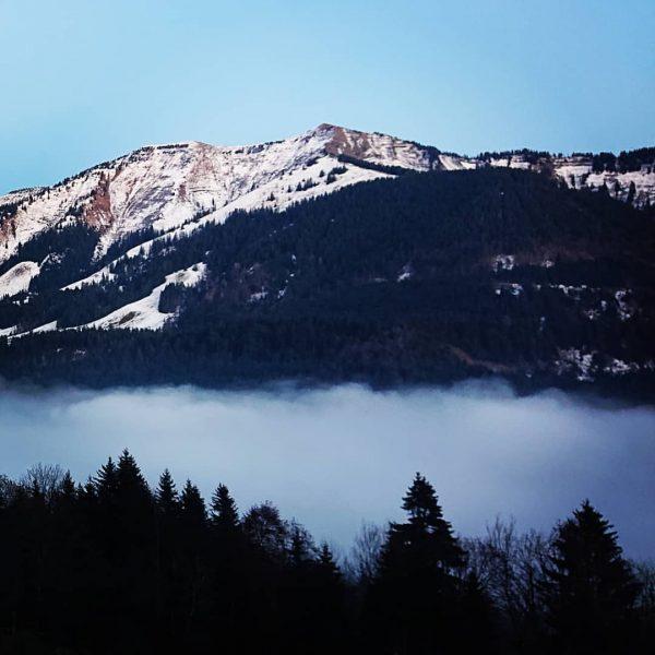 #ebnit #dornbirn #österreich #berge #wolken #nebel Ebnit, Vorarlberg, Austria