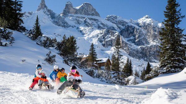 Rodeln auf den schönsten Strecken im Montafon | Vorarlberg