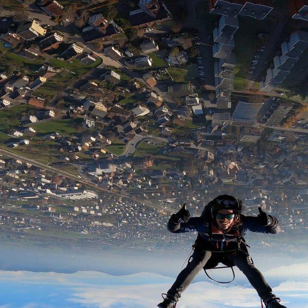 #goodlife #niceday #paragliding #chasecam #dornbirn #hohenems #austria
