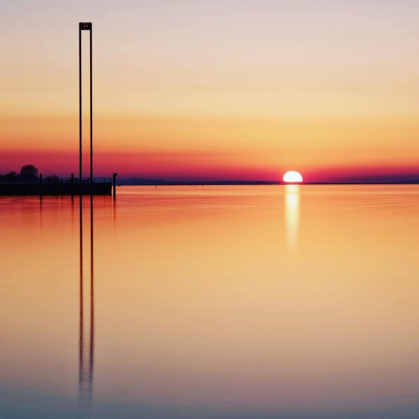Sunset in the harbour of Bregenz 😄 #sunset #instasunset #bregenz #visitbregenz #vorarlberg #visitvorarlberg ...