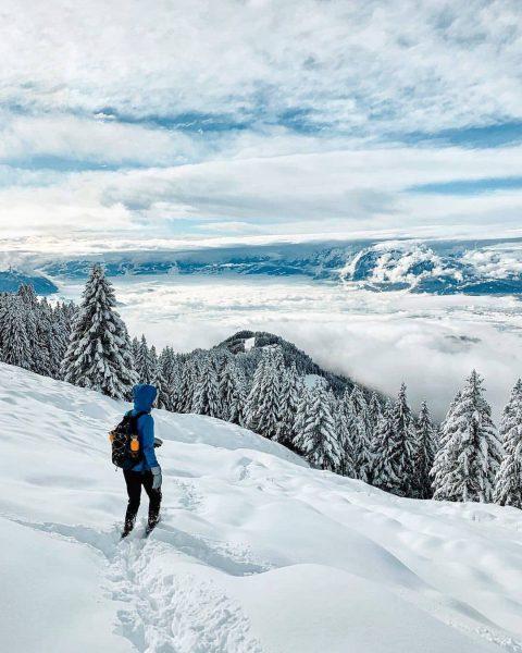 Walking in a winter wonderland ❄😍. Vielen Dank @manuelaskr für die schöne Aufnahme ...