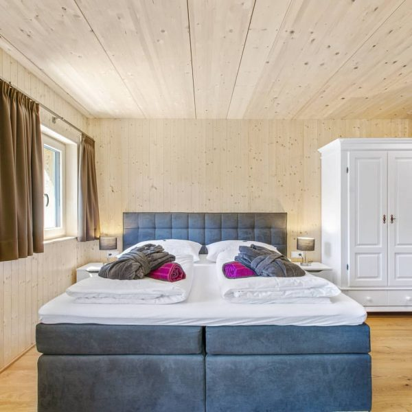 Our room EDELWEIß for two or three persons-a lot of wood-wall with clay- ...