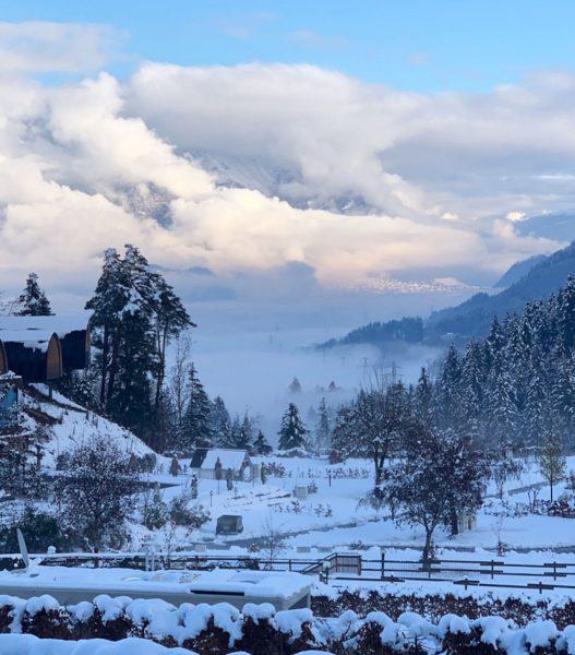 Wintercamping mal anders #wintercamping #alpencampingnenzing #dauercamper #erlebepersönlich #erlebealpencamping #winter2021 #neustart Alpencamping Nenzing