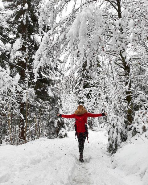 Feiertag genutzt #hiking #hikingadventures #winterwonderland❄️ #happy #snow #vorarlberg #home #3ländereck #österreich #schweiz #deutschland ...