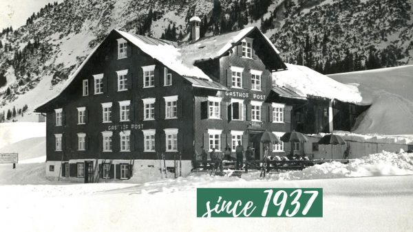 In 1937 Erich and Irma Moosbrugger acquired the Gasthof Post in Lech. It ...
