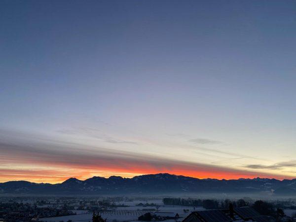 #morning #goodmorning #rheintal #home #outdoors #nature #atmosphere #panorama #view #views #horizon #cloudporn #skyporn ...