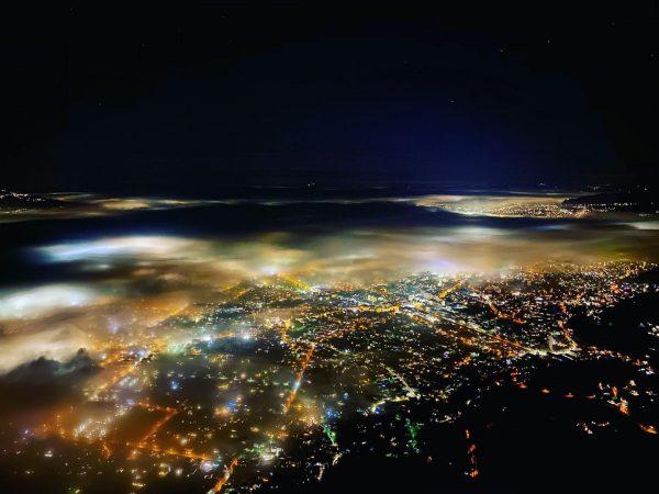 #foggy #nightwalk #karren #visitvorarlberg #dornbirn #view #night #workout #lovethisplace #couplegoals Karren Dornbirn