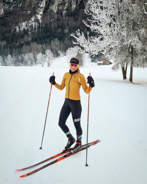 Man tausche Rennrad gegen Langlaufski und rauskommt ein genialer Tag im Winterwonderland! ❤❄ ...