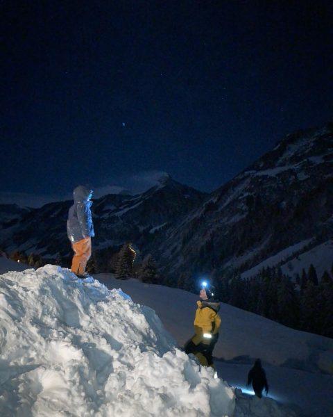 #zafernhorn at night #winterland #mountains #nofilter #winterlandschaft #damüls #damülserberge #bregenzerwald #vorarlberg #visitbregenzerwald #visitvorarlberg ...