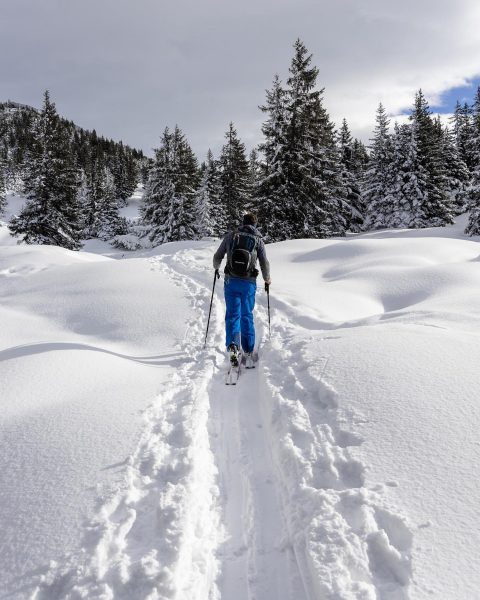 about yesterday. - #vorarlberg #skitouring #winter #montafon #verwall #outdoor #love Bartholomäberg