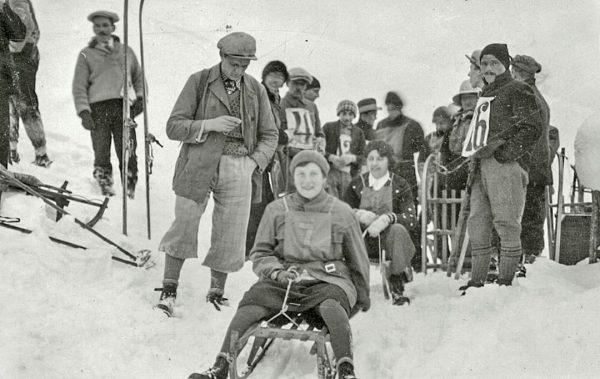 Am Anfang des Wintersports im Montafon stand das Rodeln, das