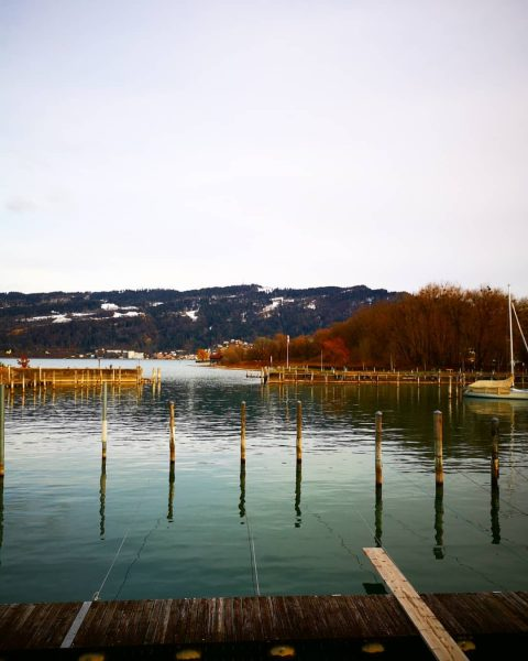 It's nice to live in Bregenz at the Lake of Constance and have ...