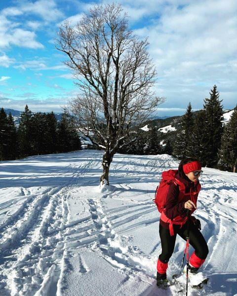 g'hörig guat 👌🏻❄️ #heimatliebe #bregenzerwald #hittisau #lecknertal #naturelover #schneeschuhwandern #winterwonderland #snowsnowsnow #wanderlust #outdoor ...
