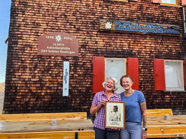 Ganz besonderen Besuch hatten wir dieses Wochenende! Beatrice Bantlin, Enkelin des ehemaligen und ...