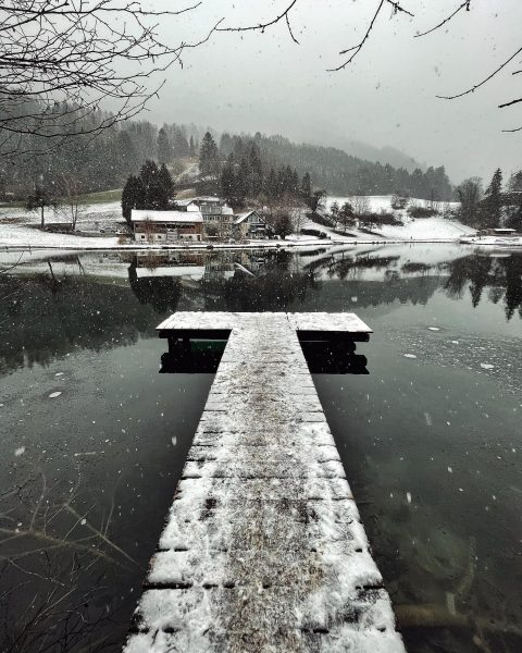🌨 . . . #snowday #snowyday #wintertime #wintervibes #enjoyaustria #visitvorarlberg #winterphotography #mobilephotography #lakephotography #lakeview #weatherphotos #weatherphotography #visitaustria...