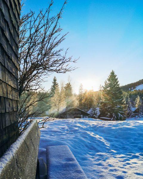 DANKBAR für die schönen Momente in 2020 ⭐ #visitvorarlberg #bödele #fohramoos #schneeschuhwandern #vorarlbergwandern ...