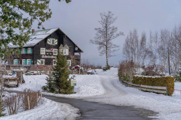 01/01/2020 Austria Vorarlberg Bregenz Auf der Spitze des 1068 m hohen Pfänders. #austria ...