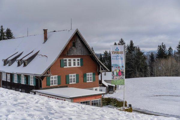 01/01/2021 Austria Vorarlberg Bregenz Ein Rundgang am Pfänder, eine Stärkung in der Pfänderdohle ...
