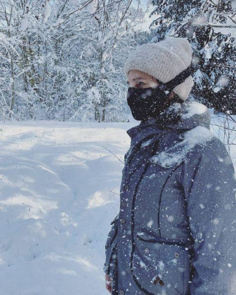 Kalte Temperaturen? Kein Problem mit! Unsere AlpineMask schützt nämlich vor Wind und Wetter. ...