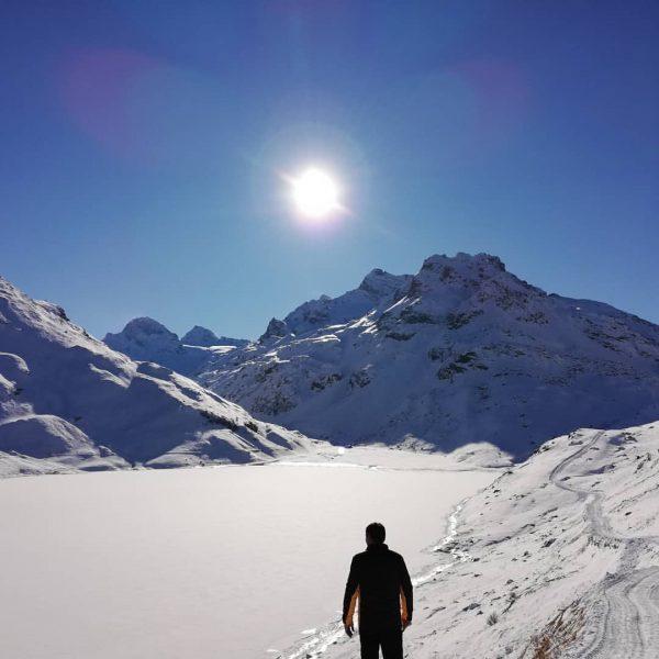 Wintertraumtag😊 #silvretta #winterwonderland #wintertime #vorarlbergwandern #vorarlberg #traumtag #bluesky #sunnyday #mountains #montafon #meinmontafon #cold ...