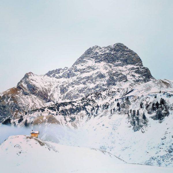Dritte Bergtour im neuen Jahr 🙈😅 Von Baad (Kleinwalsertal) Richtung Bärgunthütte weiter am ...