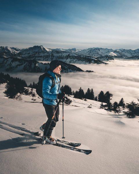 Dem Nebelmeer entkommen 😍 sind schon ein paar Höhenmeter, die man erklimmen muss, ...