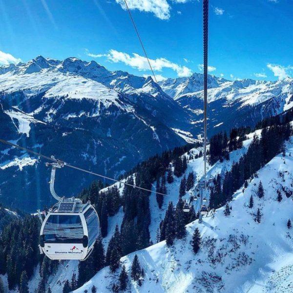 Die Grasjochbahn in St. Gallenkirch ist eine 8-MGD aus dem Jahr 2011. Knapp 4 Kilometer ist die...