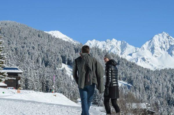Winterwandern am Kristberg in Silbertal, dem Genießerberg im Montafon - In Ruhe und ...