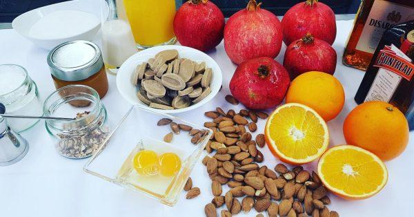 Mandel-Krokantmousse - Orangen-Granatapfelsauce - Cointreau @guenter.assmann - - - - - - - ...