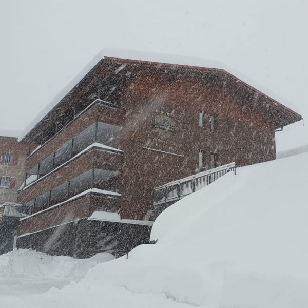Neuschnee. 😍✨❄️ . . #damüls #neuschnee #winterzeit #schneefall #vorarlberg #alpenhotelmittagspitze #damüls #berge #frauholle ...
