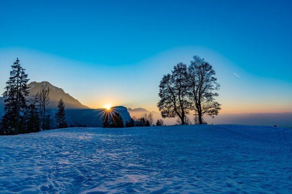 Sonnenuntergang oberhalb von Kehlegg/Dornbirn #vorarlberg #kehlegg #dornbirn