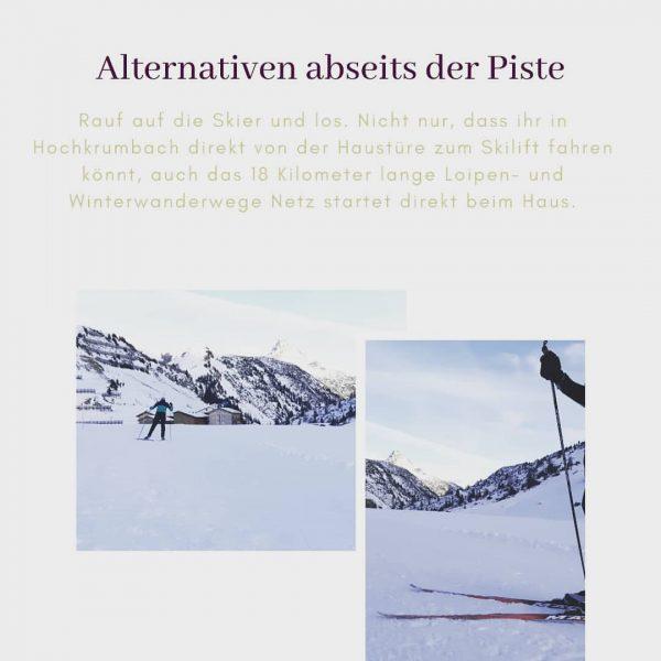 Auf die Skier und los. In Hochkrumbach urlauben heißt nicht nur direkt vom ...