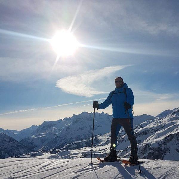#visitbregenzerwald #hiking #wanderlust #nofilter #nature #dreamday #schneeschuhwandern #tubbssnowshoes #meintraumtag #warthschröcken Salober Ski Arena