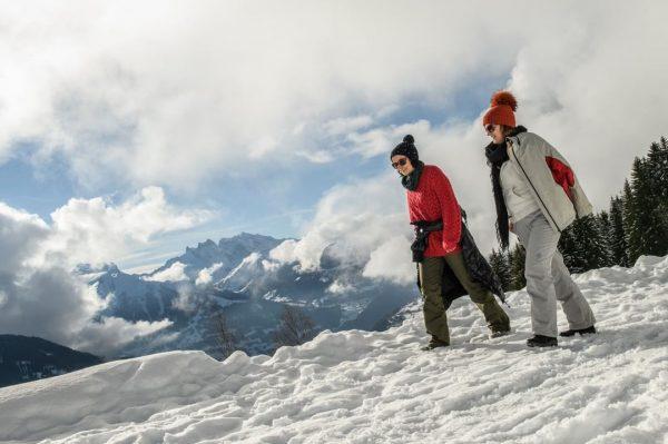Winterwandern in den Montafoner Bergen in Österreich - Abwechslungsreiche Winterwanderwege rund um den ...