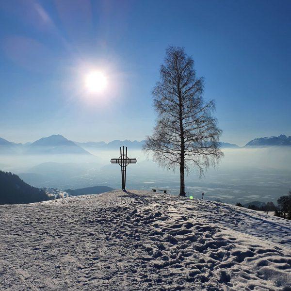 Der First 🗻 ist mit 1.617 Metern Höhe der im Freschenstock gelegene Nachbar ...