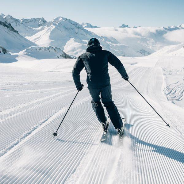 Das ultimative Skivergnügen ⛷ in Oberlech am Arlberg: Keine Busse, keine Autos, kein ...