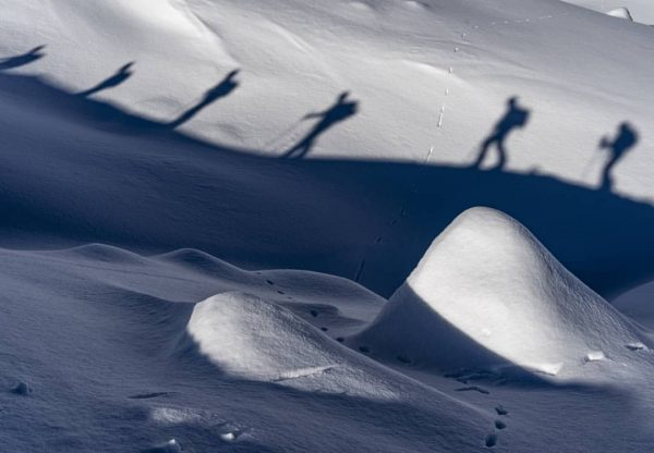 Der Arlberg bietet unzählige Tourenmöglichkeiten. #visitvorarlberg #zürs #lechzuers #skitour #loveaustria @loeffler_sportswear Zürs/lech
