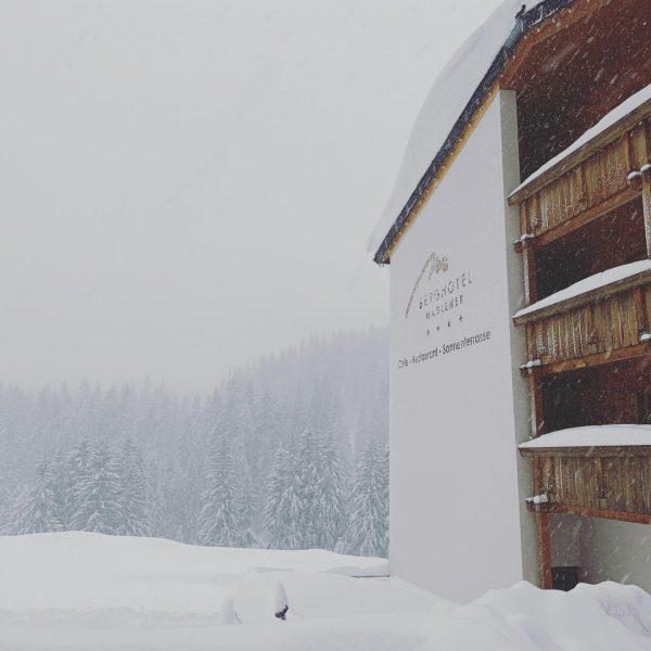 Snowy Day ❄️☃️❄️ #berghotelmadlener #damüls #schnee #snow #snowday #sovielschnee #alotofsnow #wunderschön #wunderschönertag #schneereich ...