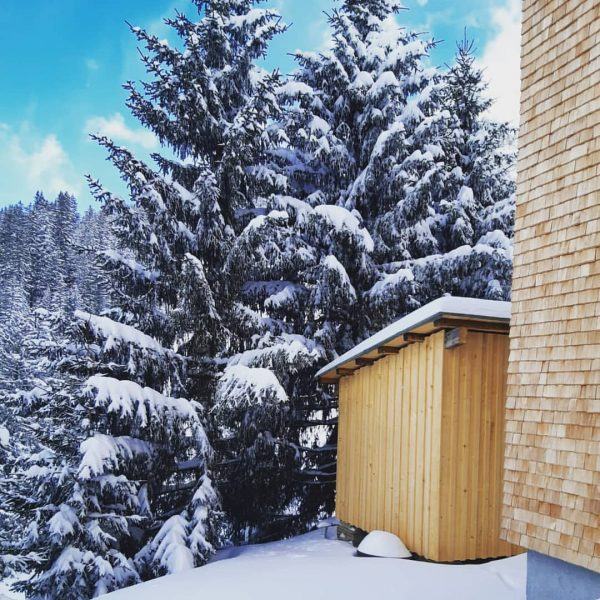 Winter is so beautiful in #schröcken we would like to share it with ...