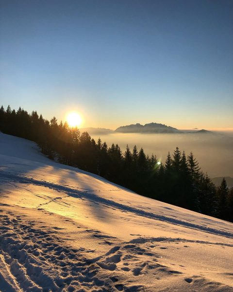 📍Hohe Kugel #hohekugel #vorarlberg #österreich #austria #berge #mountains #sonnenuntergang #sunset #nebel #nebelmeer #winter ...