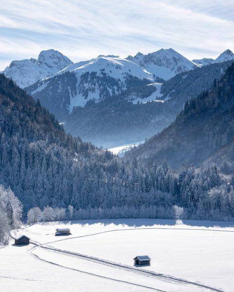 Great views in the Austrian Alps! 🇦🇹❄️😍 #vorarlberg #alps #hike Bregenzerwald